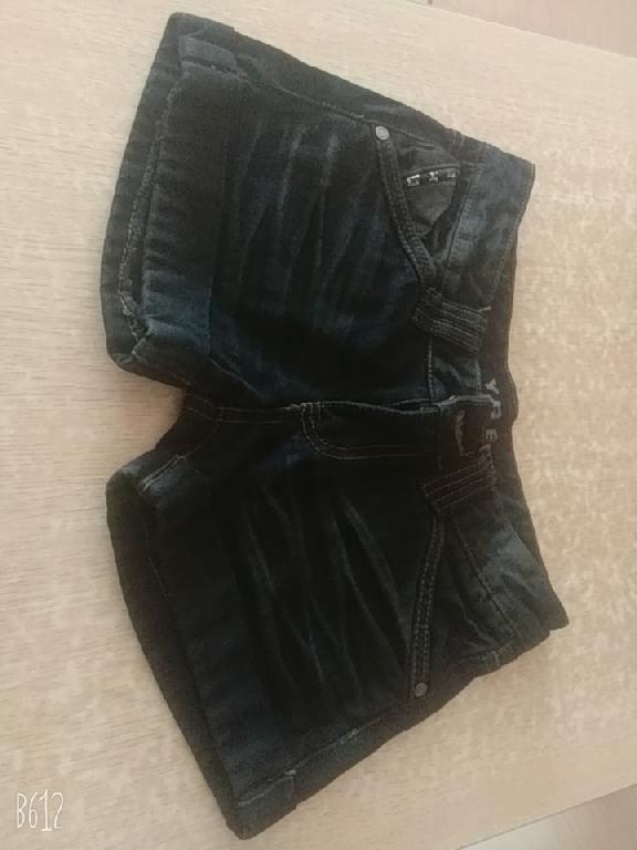女士牛仔短裤
