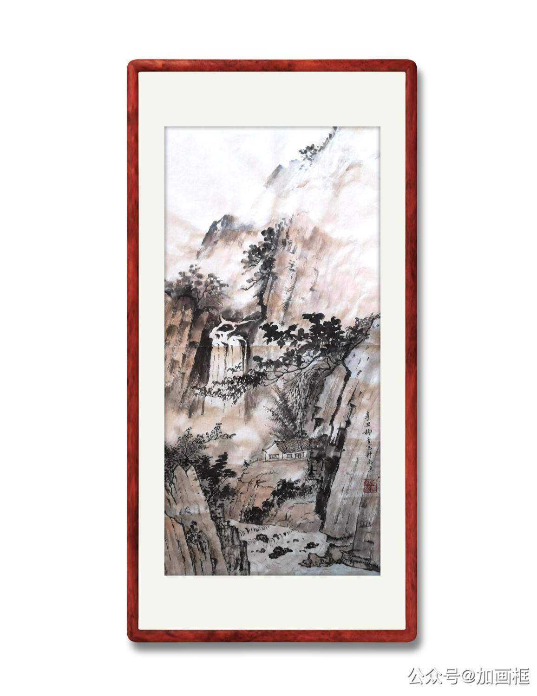 山水画(宣纸)