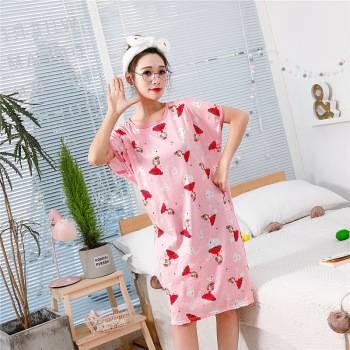 韩版宽松女式睡衣