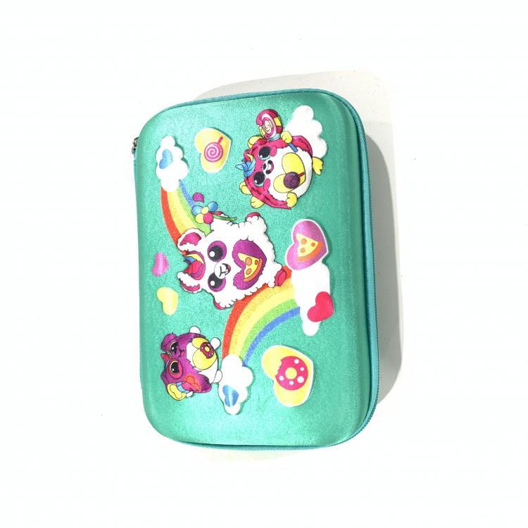 儿童大容量EVA卡通立体文具盒