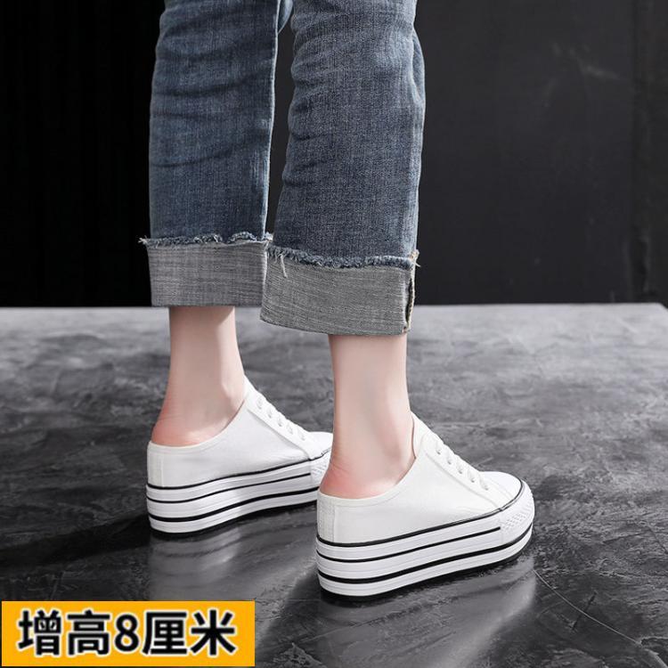 纯牛皮白鞋女39